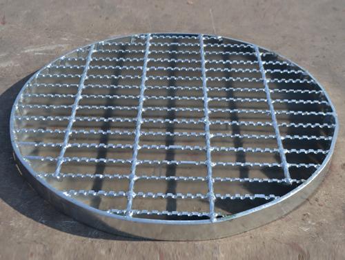 Heterotypic Steel Grating