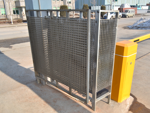 Steel Grating Railing