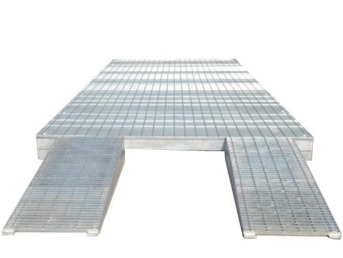 Steel Grating Car Washing Platform