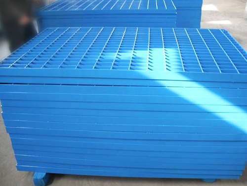 Paint-impregnated Steel Grating